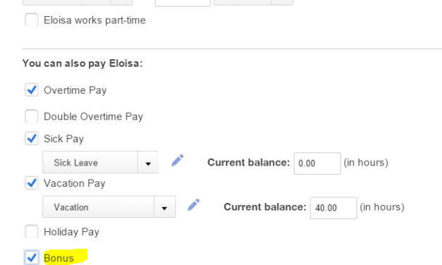 Video: How to create bonus on my employee's paycheck in  QBO Payroll