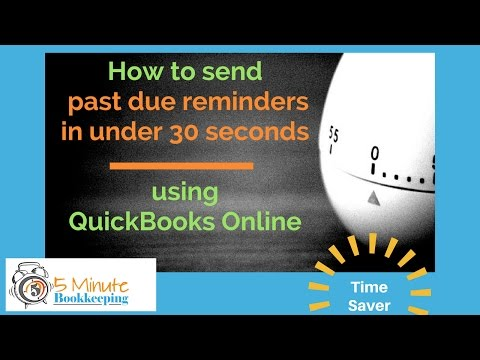 Video: How to send past due reminders in under 30 seconds