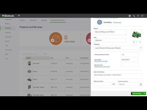 Manage Inventory in QBO: Video How To