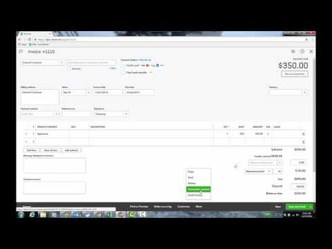 Video: Discount and Deposit Fields on Sales Forms