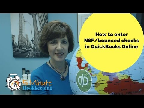Video: How to enter NSF Checks