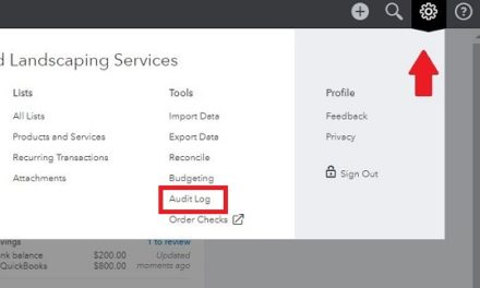 Where Do I Find The Audit Log in QBO?