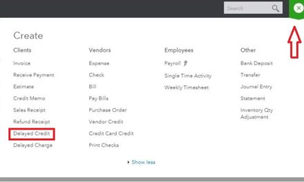 Where is the Menu to Issue a Customer Credit For Future Invoices?