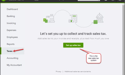 Major Update for QuickBooks Online Sales Tax