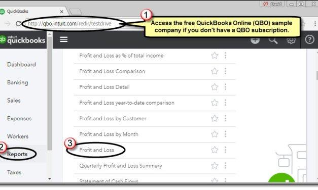 Speeding Up Access to QuickBooks Online Reports