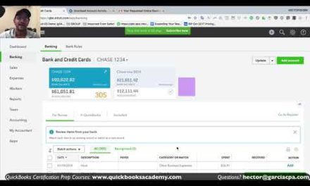 Manually Import or Upload Transactions from Bank into QuickBooks Online