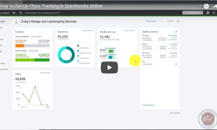 How to Set-Up Class Tracking in Quickbooks Online