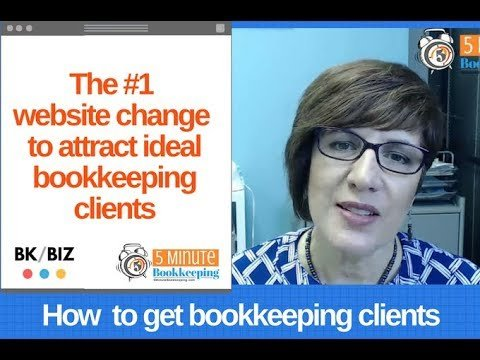 The #1 website change to attract ideal bookkeeping clients