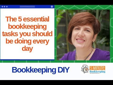 The 5 essential bookkeeping tasks you should be doing every day