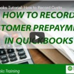 How to Record Customer Prepayments