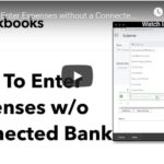 How to Enter Expenses without a Connected Bank