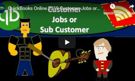 Customer Jobs or Sub Customer