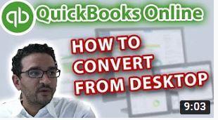 Converting from QuickBooks Desktop
