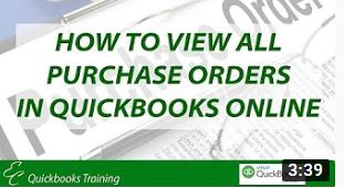 How to view all Purchase Orders in QuickBooks Online