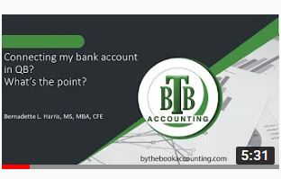 How to handle bank feeds in QuickBooks