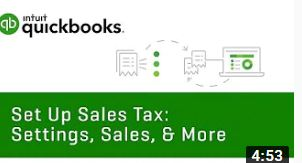 How to Set Up Sales Tax: Settings, Sales, & More