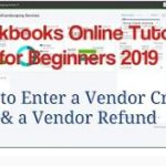 How to Enter a Vendor Credit & Vendor Refund
