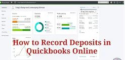How to Record Deposits in Quickbooks Online