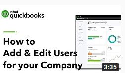 How to Add & Manage Users For Your Company | QuickBooks Online Tutorial 2019