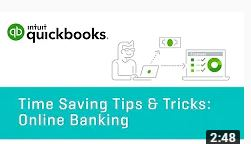 Tips & Tricks: Online Banking | QuickBooks Online Tutorial