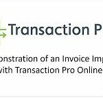 Demo of Transaction Pro Importer for QuickBooks Online