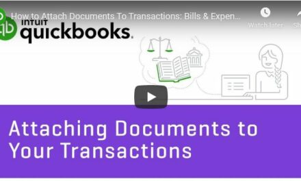 How to Attach Documents To Transactions: Bills & Expenses