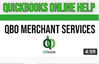 Quickbooks Online Help : QBO Merchant Services