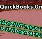 QuickBooks Online Banking Trick to Import Vendor/Payee Names