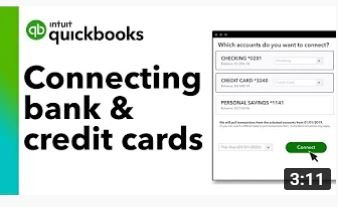 How to connect your bank & credit card accounts to QuickBooks Online