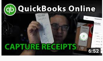 QuickBooks Online Tutorial: Capturing Receipts with Smartphone