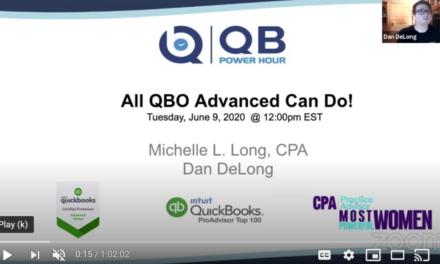 QB Power Hour – QBO Advanced – All that it can do!