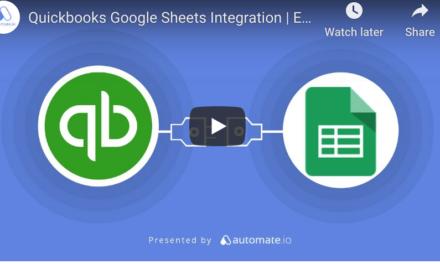 Quickbooks Online Google Sheets Integration  ?